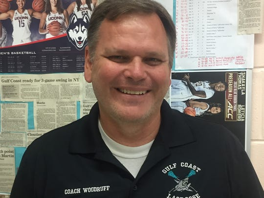 Mark Woodruff, Gulf Coast girls basketball coach