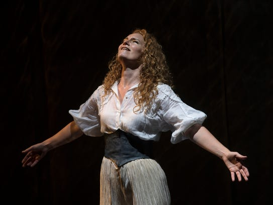 Abigail Fischer was radiant in the role of the Swiss