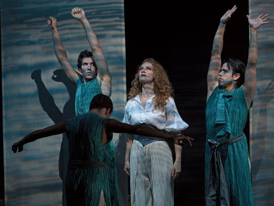 Stage director Marco Pelle created choreography for