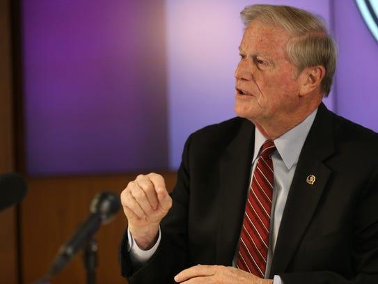 FSU President John Thrasher announces a suspension