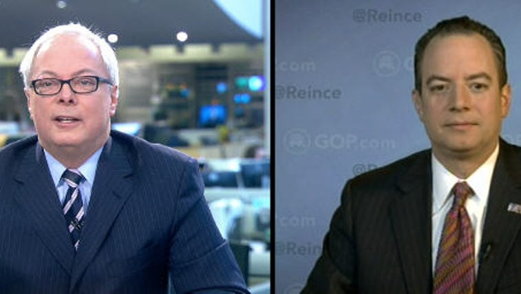 WKYC's Tom Beres and RNC Chairman Reince Priebus
