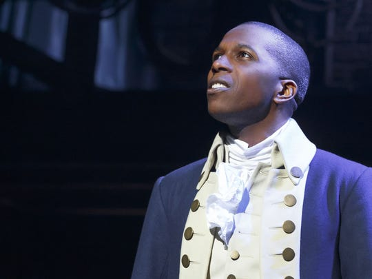 "Leslie Odom Jr. won the Tony Award for his performance as Aaron Burr in ""Hamilton."""