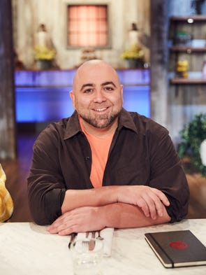 "Judge Duff Goldman, as seen on Food Network's ""Spring"