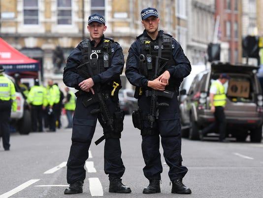 EPA BRITAIN LONDON TERRORIST INCIDENT AFTERMATH WAR ACTS OF TERROR GBR