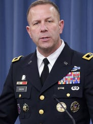 Maj. Gen. Jeffrey Snow leads Army Recruiting Command.