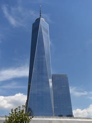 The Freedom Tower at 285 Fulton St. in Manhattan.