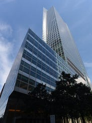 Pictured is the Goldman Sachs headquarters at 200 West