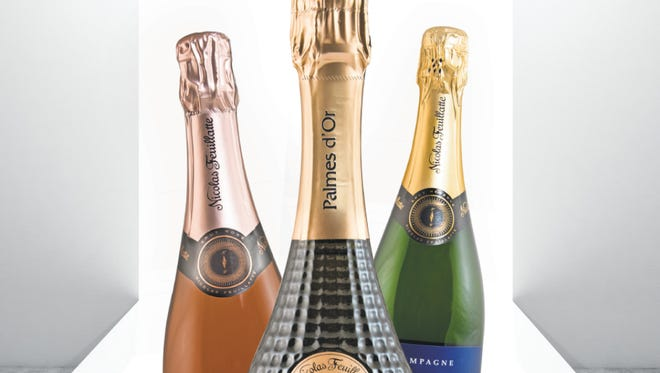 Champagne Nicolas Feuillatte draws on top vineyards from across Champagne to create its sparkling wines. The bubbles star at a Feb. 22 dinner at Bistro Napa in the Atlantis.