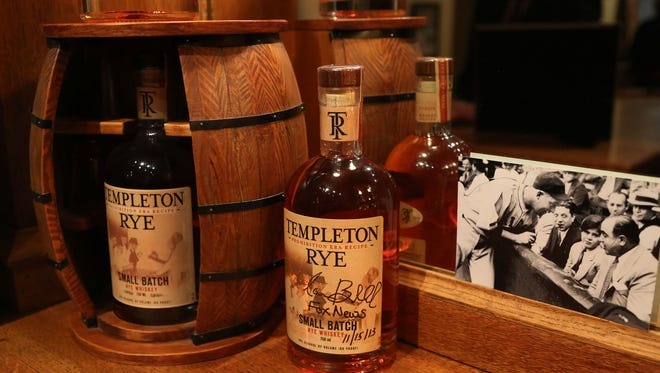 Templeton Rye Spirits will release its 1 millionth bottle at an event Wednesday. The bottle will be shipped to a random store in Iowa and will have a numeric code, which will be revealed in parts. The lucky purchaser will be invited on a tour of the production facility in Templeton and to a tasting with co-founder Keith Kerkhoff.  Mary Willie/Register photos Templeton Rye distillery will release its one millionth bottle December 4th. The special bottle will be marked and distributed in Iowa.