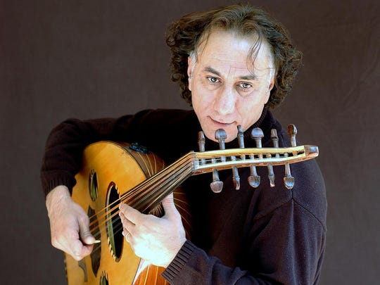 Rahim Alhaj performs at 6 p.m. Thursday in the Multipurpose