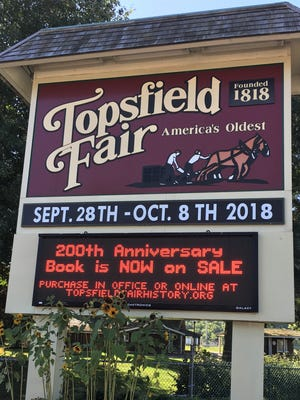 In 2018, the Topsfield Fair turned 200. It has been canceled this year because of the COVID-19 pandemic.