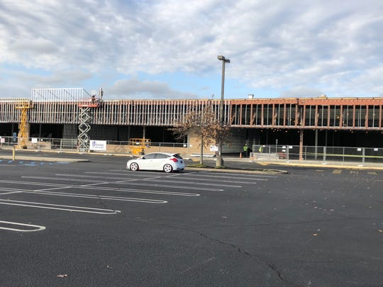 TJ Maxx and Ulta Beauty will move into the former Pathmark building in Wall when workers finish.