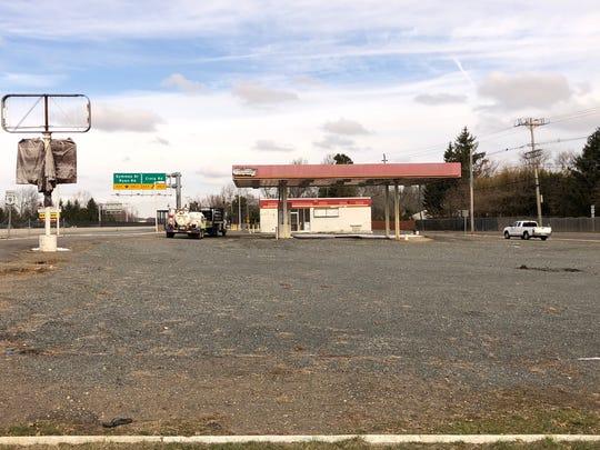 A former Getty station on Route 9 in Freehold Township is now the site of a proposed Shake Shack restaurant under consideration by the Planning Board..