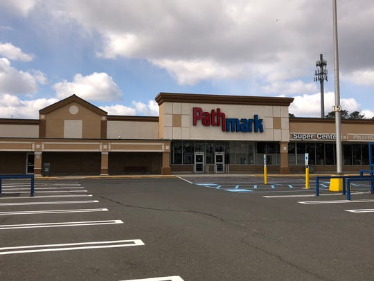 The former Pathmark store at Laurel Square shopping