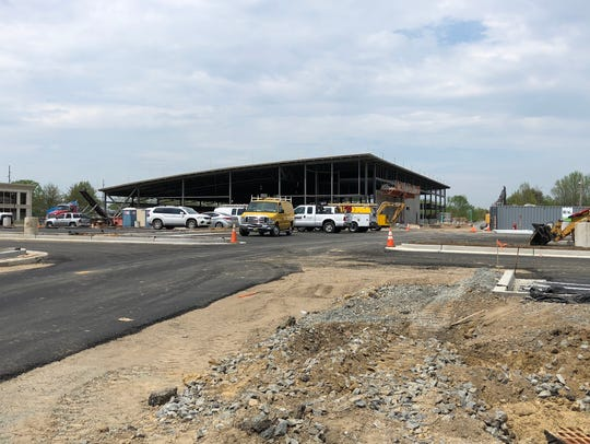 Lidl is under construction on Route 35 in Hazlet.