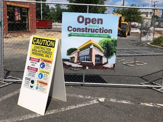 McDonald's on Route 35 in Eatontown is undergoing renovations.