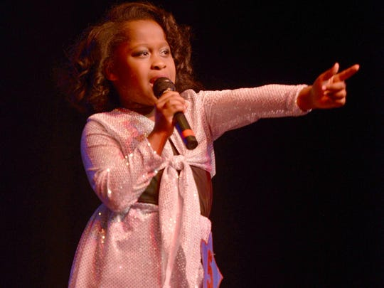 Allie Carney performed Thursday at the City of Jackson Recreation and Parks Department's eighth annual Jackson Idol. Carney was named Jackson Idol for the 6- to 8-year-old group.