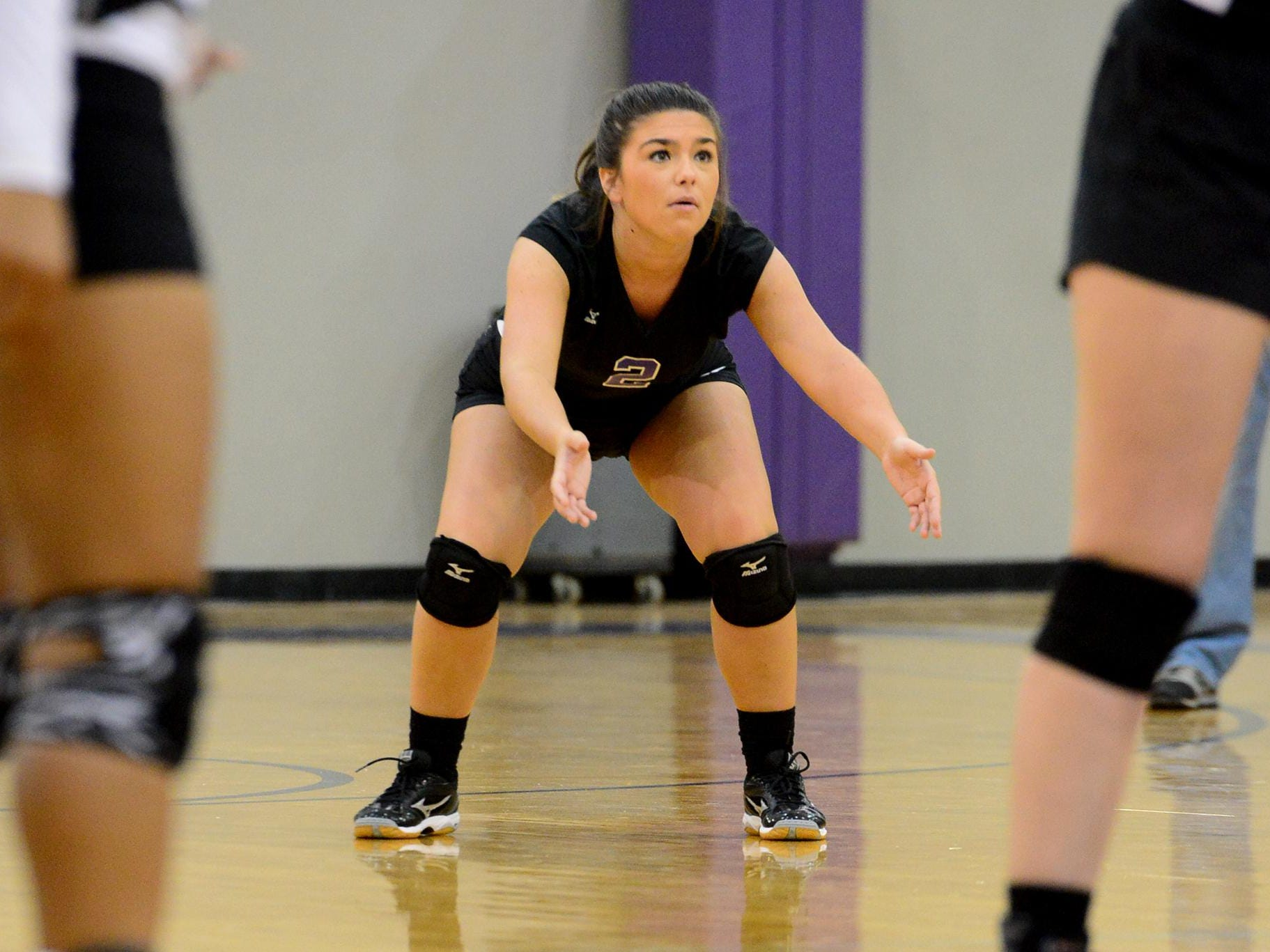 Trinity Christian Academy's Katie Tillman was second on the team last year in kills and digs.