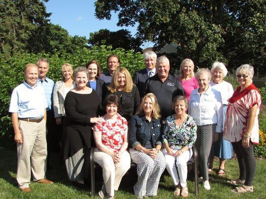 Pictured are the 2017-2018 Manitowoc Symphony Orchestra Board of Directors. Sitting, from left, are D.J. Lucas, Carole Witt Starck and Janet Garrett. Standing first row, from left: Peggy Pitz, executive director, Genny Shields, Dr. Joseph E. Trader, Judy Sigman and Rhonda Trader. Standing second row, from left: Zach Holzer, Michael Dunlap, Kelly Dvorak, Katherine Reynolds, William Fricke, Wayne Wildman, music director, Renee Thompson and Elaine Schueler. Not pictured: Fred Hazlewood, Monica Hrudik and Pete Peterson.
