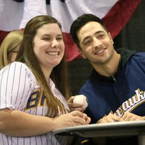 Braun headlines players for 'Brewers On Deck'