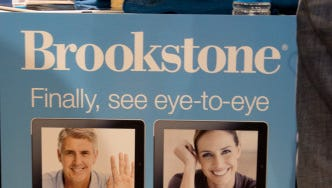 Look into this Brookstone upside down periscope so to make direct eye contact with your loved ones thousands of miles away.