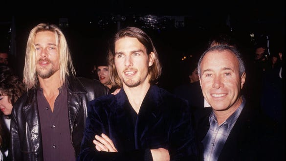 flashback-friday-1994-movie-premiere-brad-pitt-tom-cruise ... Mark Wahlberg Wife