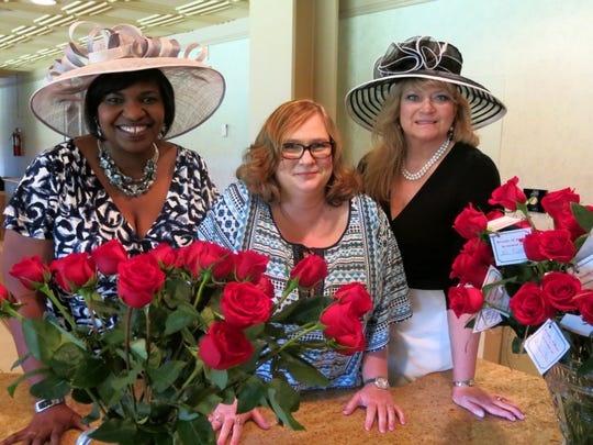 American Cancer Society Race  Day Soiree Honorary Chairs: Dr. Joyce Feagin, Jill Pilinski, Donna LaCour at Baron's  Ball Gala.