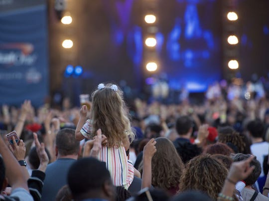 Country superstar Keith Urban is part of the line up along with Chainsmokers and Aerosmith and Macklemore with Ryan Lewis at the free March Madness Music Festival.