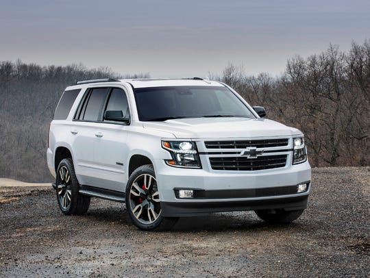 The 2018 Chevrolet Tahoe.