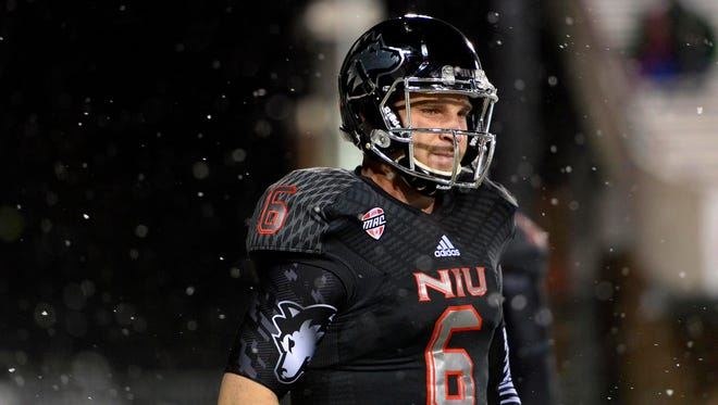 Northern Illinois senior Jordan Lynch is the nation's No. 3 rusher. And he plays quarterback.