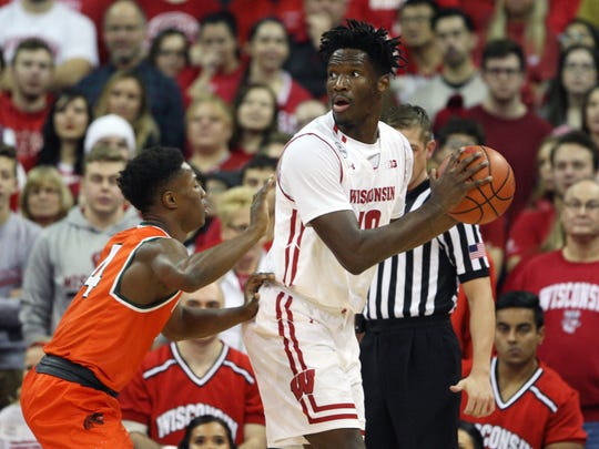 Nigel Hayes has helped Wisconsin to a number of quality wins in the nonconference schedule.