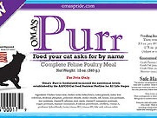 Product label courtesy of FDA.gov