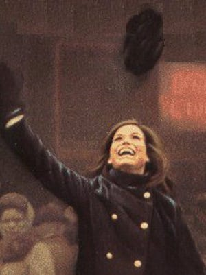 """Mary Tyler Moore is shown in opening sequence for the """"Mary Tyler Moore Show."""""""