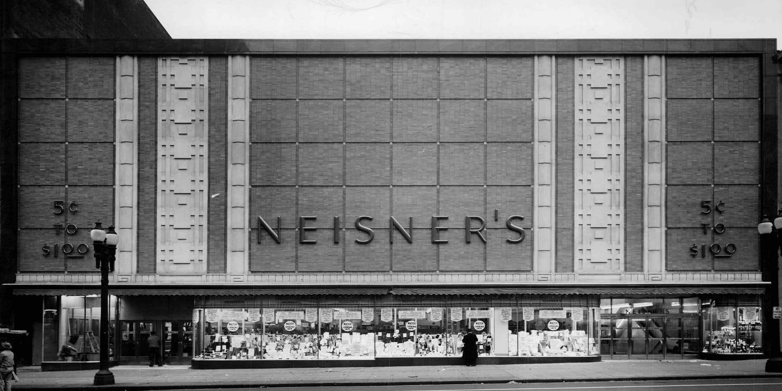 Wver Happened To ... Neisner's? on