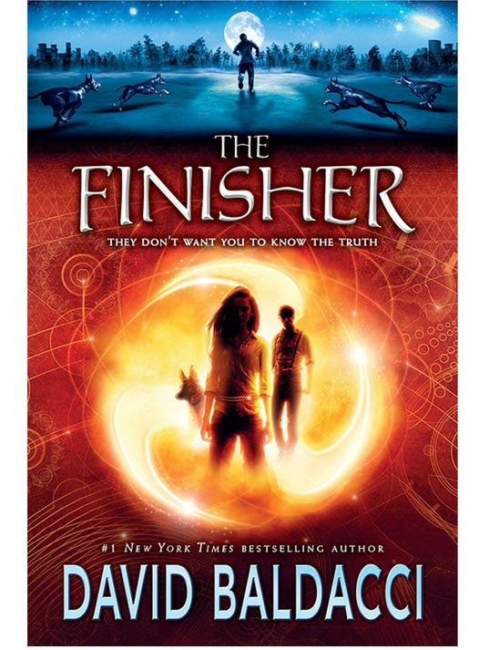 Cover reveal and excerpt: 'The Finisher' by David Baldacci