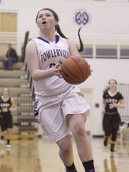 Jackie Jarvis was Fowlerville's leading scorer as a