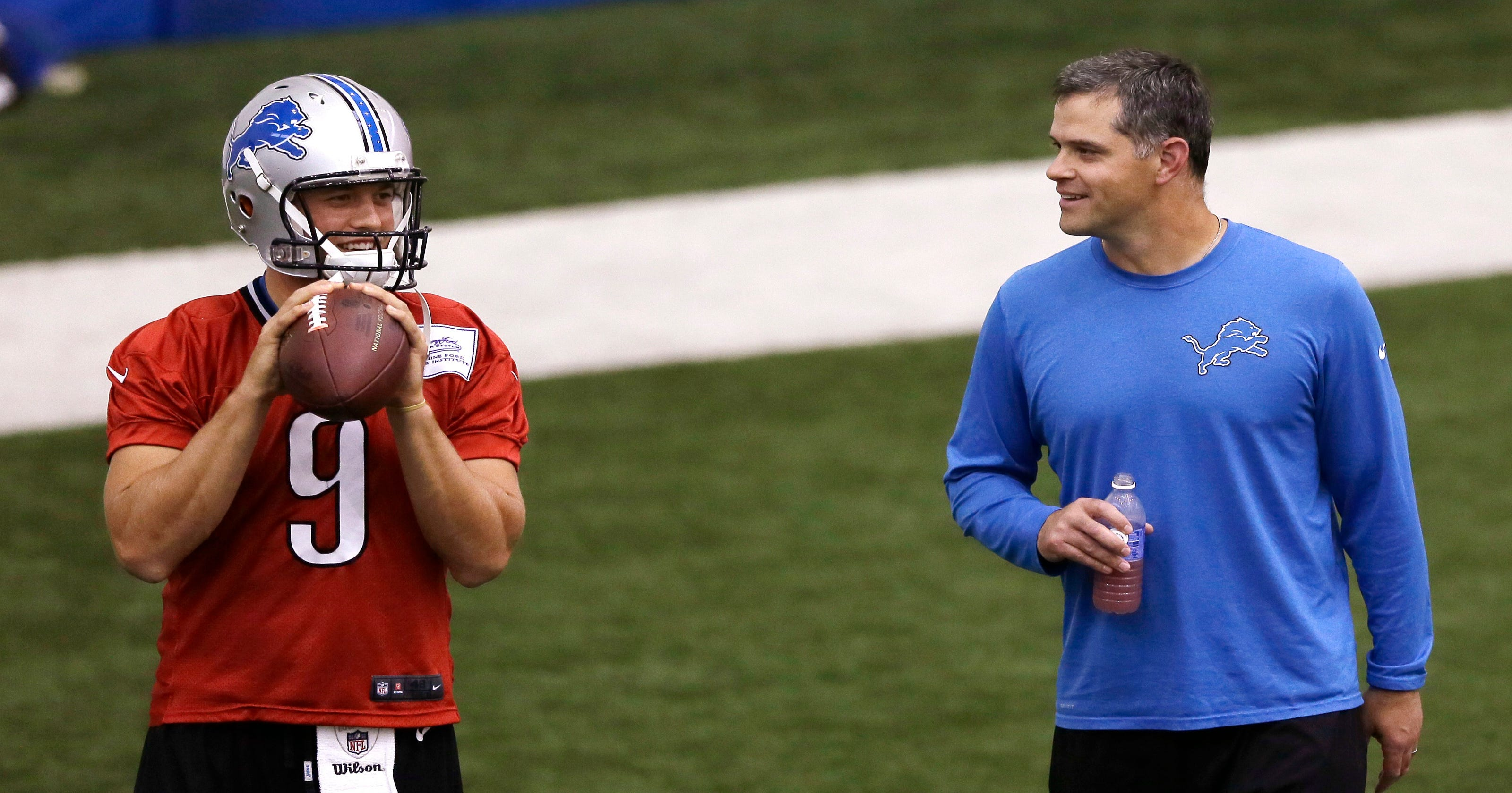 fb182f41ad4 New Lions assistant Joe Lombardi not worried about living up to name