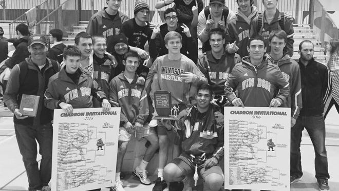 The Windsor High School wrestling team won the Chadron Invitational in Nebraska among 29 teams over the weekend.