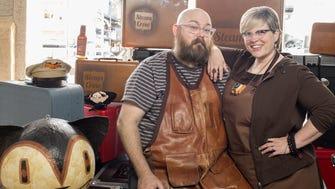 Daniel and Dawna Davis of Steamcrow.
