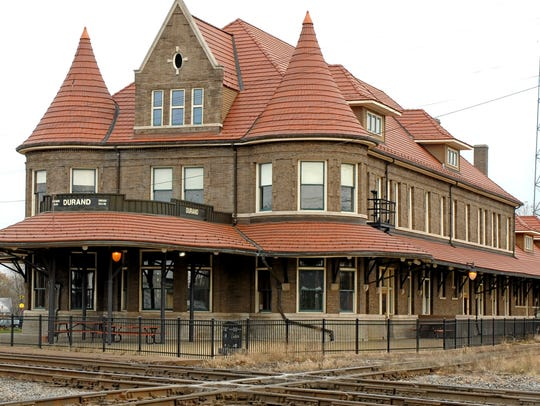 Durand Union Station in Durand was built in 1905 and