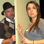 """Susie Hendrix, a blind woman played by Lauren Klemp, is terrorized by the villainous Harry Roat (Michael Irvin Pollard) in the play """"Wait Until Dark."""" Playwright Jeffrey Hatcher's revision of Frederick Knott's classic thriller opens this weekend and runs through Feb. 15 at the Bickford Theatre at the Morris Museum."""