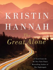 """""""The Great Alone"""" by Kristin Hannah."""