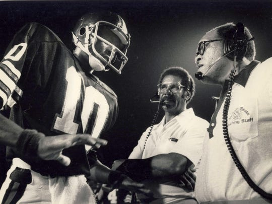 Former Alabama State head coach Houston Markham, Jr. was an assistant at Jackson State from 1975-1987.