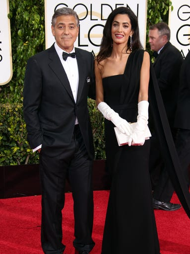 George Clooney and Amal Alamuddin Clooney