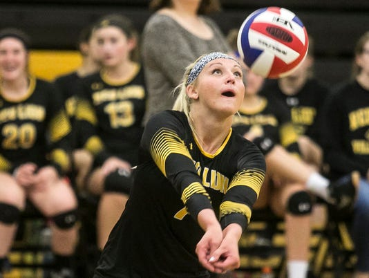 Spring Grove vs. Red Lion girls' volleyball