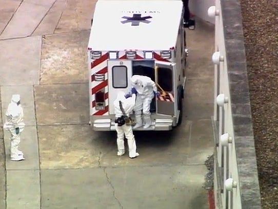AP Ebola Americans