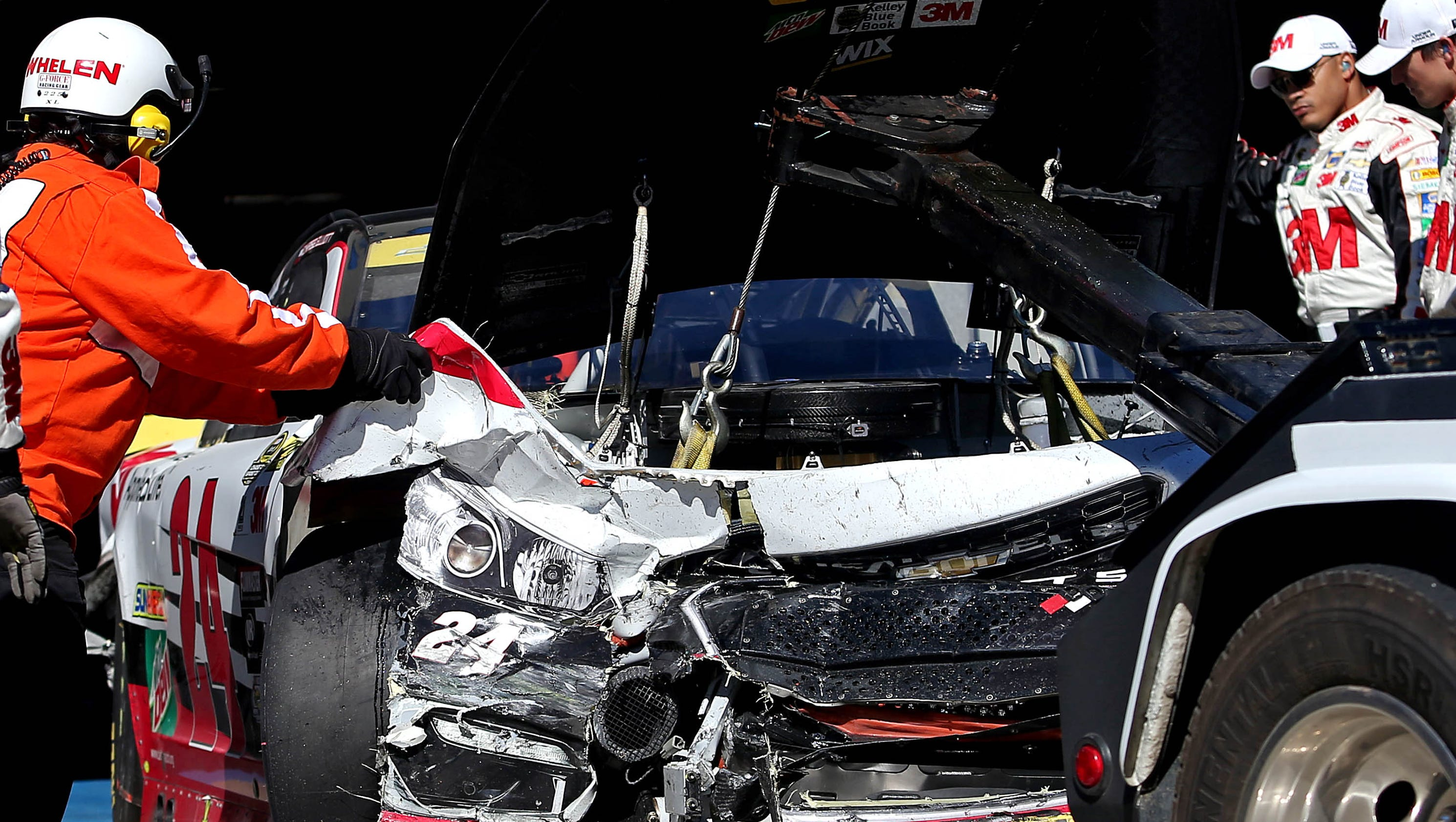 New rule NASCAR won t allow some race car repairs