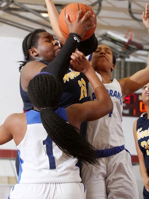 Franklin senior Monique Campbell-Davis is one of the few Warriors returning from last year's Group IV championship team