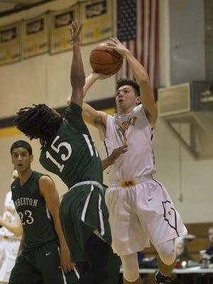 St. John Vianney defeated Pemberton 57-55 at the Score at the Shore Tournament