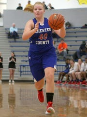 Chester County's Savanna Naylor transferred from Riverside over the summer.